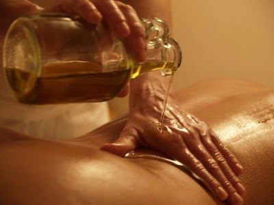Использование масел при массаже