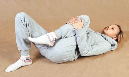 Гимнастика при остеохондрозе коленного сустава
