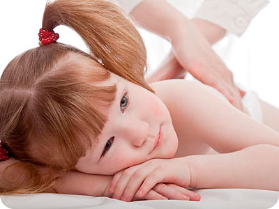 Массаж при нарушении осанки у детей