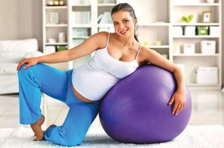Физические упражнения при беременности