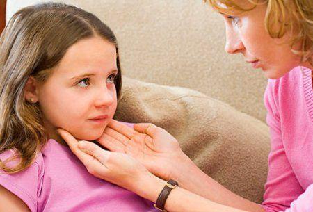 Боль в шее у детей