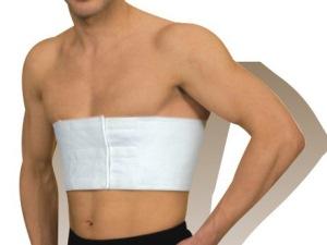 Лечение грудной клетки при помощи тугого бинтования