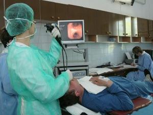 Процесс бронхоскопии