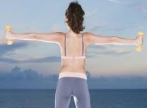 Упражнения от сутулости